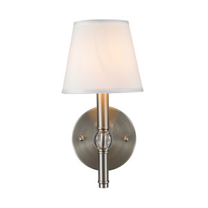 Waverly Pewter One Light Sconce