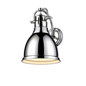Duncan Chrome One-Light Wall Sconce