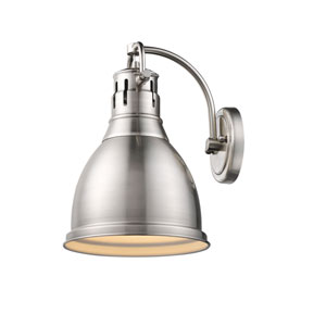 Duncan PW Pewter One-Light Wall Sconce
