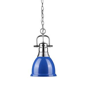 Duncan Chrome One-Light Mini Pendant