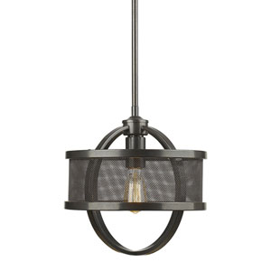 Colson Etruscan Bronze One-Light Mini Pendant