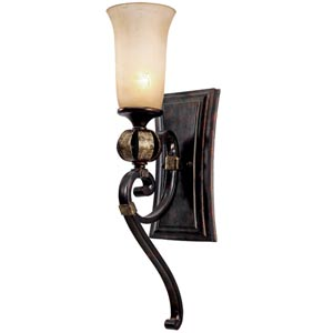Portland Fired Bronze One-Light Sconce