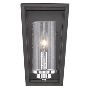 Mercer Black One-Light Wall Sconce