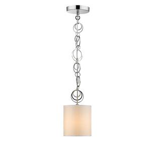 Danica Chrome One-Light Mini Pendant