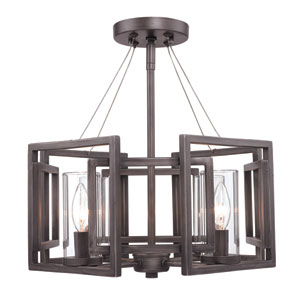Marco Bronze Close to Ceiling Light