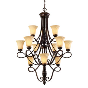 Torbellino Three-Tier Chandelier