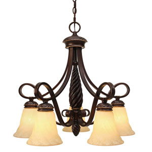 Torbellino Five-Light Nook Chandelier