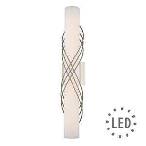 Juliette Pewter -Inch 24-Inch LED Bath Bar with Opal Glass