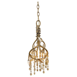 Autumn Twilight Mystic Gold Mini Pendant