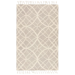 Vera By Nikki Chu Ivory 5 Ft. x 8 Ft. Rectangular Rug