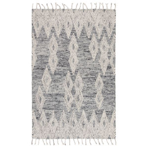 Vera By Nikki Chu Blue 8 Ft. x 10 Ft. Rectangular Rug