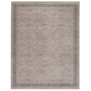 Winsome Brinson Oriental Blue and Gray 7 Ft. 10 In. x 9 Ft. 10 In. Area Rug