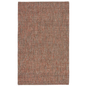 Monterey Sutton Solid Orange and Brown 8 Ft. x 10 Ft. Area Rug
