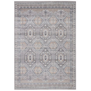 Sarzana Cabazon Trellis Gray and Beige 9 Ft. x 13 Ft. Area Rug