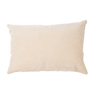 Luxe Cream 16 x 24-Inch Decorative Pillow