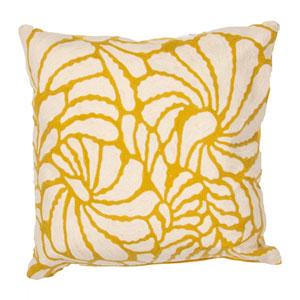 En Casa by Luli Sanchez Pillows Honey 18 In. Pillow with Down Fill