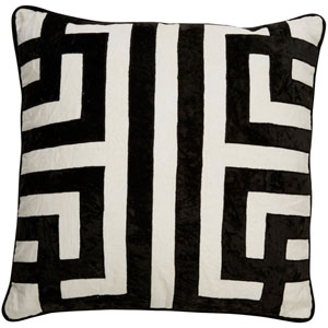 Cosmic by Nikki Chu Marshmallow 22 In. Pillow with Down Fill