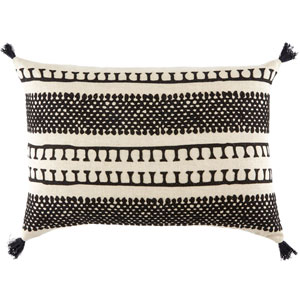 Cosmic by Nikki Chu Fog 16 In. x 24 In. Pillow with Poly Fill
