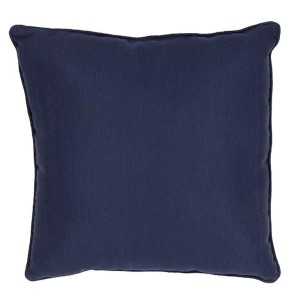 Veranda Navy 20-Inch Decorative Pillow
