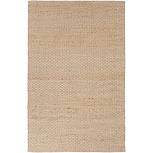 Andes Taupe and Gray Rectangular: 5 Ft. x 8 Ft. Rug