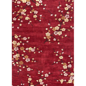Brio Red and Yellow Rectangular: 5 Ft. x 7 Ft. 6 In. Rug