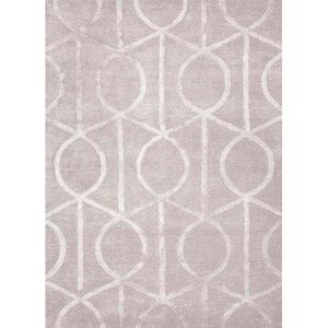 City Taupe and Ivory Rectangular: 5 Ft. x 8 Ft. Rug