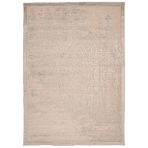 Fables Taupe and Green Rectangular: 5 Ft. x 7 Ft. 6 In. Rug