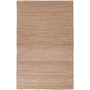 Himalaya Taupe and Gray Rectangular: 5 Ft. x 8 Ft. Rug