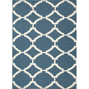 Maroc Blue Rectangular: 5 Ft. x 8 Ft. Rug