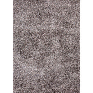 Nadia Gray and Ivory Rectangular: 5 Ft. x 8 Ft. Rug