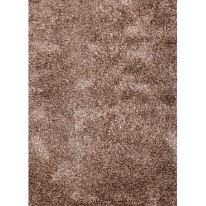 Nadia Ivory and Taupe Rectangular: 8 Ft. x 10 Ft. Rug
