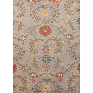 Passages Blue and Red Rectangular: 5 Ft. x 8 Ft. Rug
