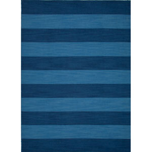 Pura Vida Blue Rectangular: 5 Ft. x 8 Ft. Rug