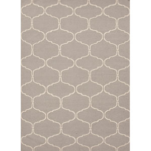 Maroc Grayish Ivory Rectangular: 5 Ft. x 8 Ft. Rug