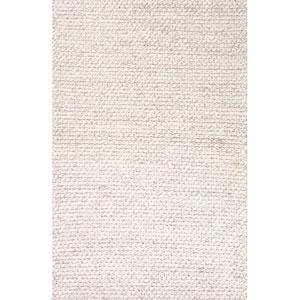 Scandinavia Dula Ivory Gray Rectangular: 5 Ft. x 8 Ft. Rug