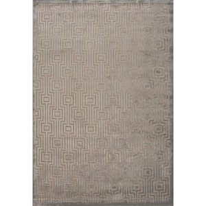 Fables Light Gray and Tan Rectangular: 5 Ft. x 7 Ft. 6 In. Rug