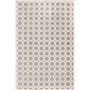 Fables Ivory Gray Rectangular: 5 Ft. x 7 Ft. 6 In. Rug