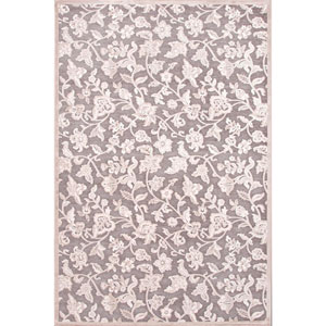 Fables Grayish Ivory Rectangular: 5 Ft. x 7 Ft. 6 In. Rug