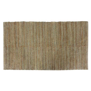 Himalaya Green and Taupe Rectangular: 5 Ft. x 8 Ft. Rug