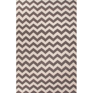 Maroc Grayish and Light Ivory Rectangular: 5 Ft. x 8 Ft. Rug