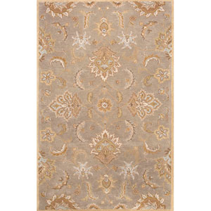 Mythos Gray and Tan Rectangular: 5 Ft. x 8 Ft. Rug