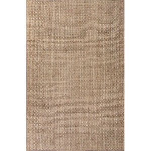 Naturals Lucia Light Taupe and Tan Rectangular: 5 Ft. x 8 Ft. Rug