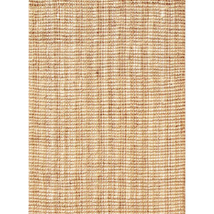 Naturals Lucia Ivory and Taupe Rectangular: 5 Ft. x 8 Ft. Rug