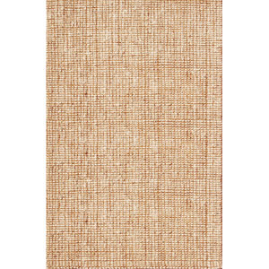 Naturals Lucia Ivory and White Rectangular: 5 Ft. x 8 Ft. Rug