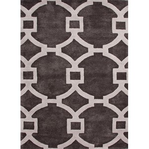 City CT03 Liquorice Rectangular: 9 Ft. x 12 Ft. Rug