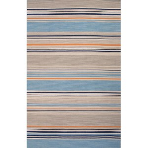 Pura Vida PV61 Ocean Blue Rectangular: 2 Ft. x 3 Ft. Rug