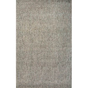 Britta Plus BRP04 Natural Linen and Aqua Sky Rectangular: 8 Ft. x 10 Ft. Rug