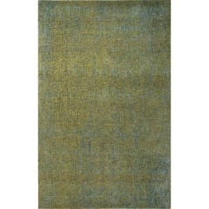 Britta Plus BRP03 Dark Lime and Caribbean Sea Rectangular: 5 Ft. x 8 Ft. Rug
