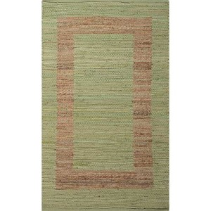 Prime Plus PRP02 Green Rectangular: 2 Ft. 3 In. x 3 Ft. 9 In. Rug