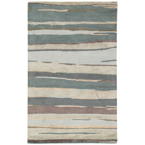Baroque Parnami Balsam Green Rectangular: 2 Ft. x 3 Ft. Rug